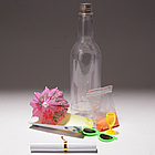 Tropical Invitation in A Bottle