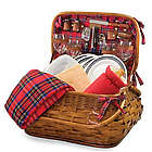 Philadelphia Eagles Highlander Rattan Picnic Basket