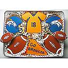 Go Broncos Cookie Gift Tin