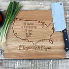 Home is Wherever You Are Personalized Cutting Board