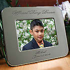 Engraved Ring Bearer Silver Picture Frame