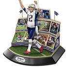 New England Patriots Tom Brady Super Bowl LI Sculpture