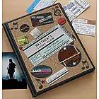 Personalized Concert Ticket Album