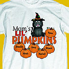 Lil Pumpkins Personalized Halloween Sweatshirt