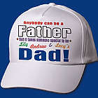 Anybody Can Be Dad Personalized Hat