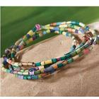 Zulugrass Beads For Learning Wrap Bracelet