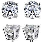 0.50 Carat Diamond Stud Earrings