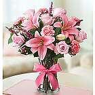 Expressions of Pink Flower Bouquet