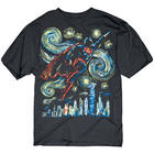 Superman Abstract Painting Tee