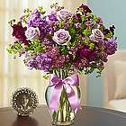 Shades of Purple Floral Arrangement