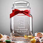 Legal Office Personalized Treat Jar