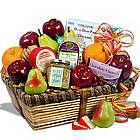 Gourmet Basket of Fruit and Snacks