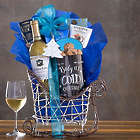 Hobson Estate Pinot Grigio Sleigh Gift Basket
