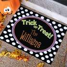 Trick or Treat Welcome Doormat