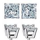 1.50 Carat Diamond Stud Earrings