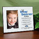 To Our Ring Bearer Personalized Printed Frame