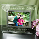 Engraved We Love Picture Frame