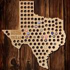 Everything is Bigger in Texas Extra Large Beer Cap Map