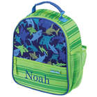 Personalized Shark Lunchbox in Green and Blue