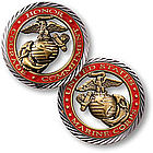 Core Values Military Keepsake Coin
