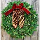 Handmade Fresh Tahoe Pine Holiday Wreath