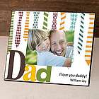 Personalized Ties Father's Day Picture Frame