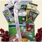 Tee It Up Valentine's Day Golf Gift Basket