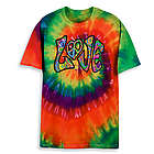 Love Tie Dye Transfer T-Shirt