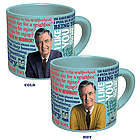 Mister Rogers Sweater Changing Coffee Mug