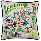 Embroidered Ireland Pillow