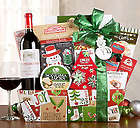 Vintners Path Cabernet Christmas Collection Gift Basket