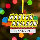 Personalized Master Builder Ornament
