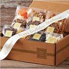 Organic Snacks Gift Box with Personalized Ribbon
