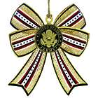 United States Army 3D Bow Ornament