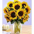 Deluxe Sunflower Radiance Bouquet