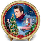 Elvis Presley Merry Christmas From Graceland Collector's Plate