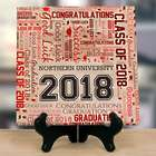 Personalized Graduation Word-Art Canvas