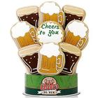 Cheers To You Beer Themed 9 Piece Cookie Bouquet