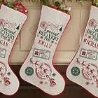 Special Delivery Personalized Christmas Stocking