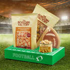 Football Field Snacks and Munchies Gift Tray