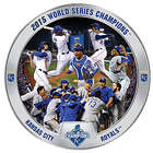 Kansas City Royals 2015 World Series Commemorative Plate