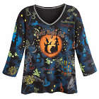 Girls Night Out Halloween Long Sleeve Top