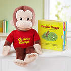 Gund Curious George Stuffed Animal and Story Book