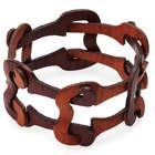 Lenka Wooden Chain Link Bracelet