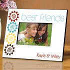 Personalized BFF Natures Charm Friendship Picture Frame