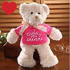 Personalized All My Love Pink Teddy Bear
