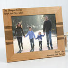 Personalized Vertical Simplicity Wood Picture Frame