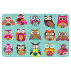 Whimsical Owls Kitchen Mat