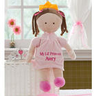 Personalized Brunette Princess Doll