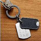 Personalized Metal Tag Key Chain